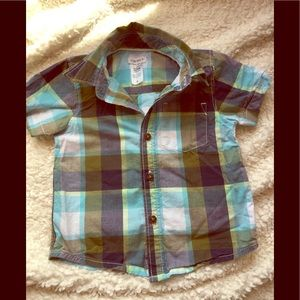 Carters Baby Boy Button Down 12 months
